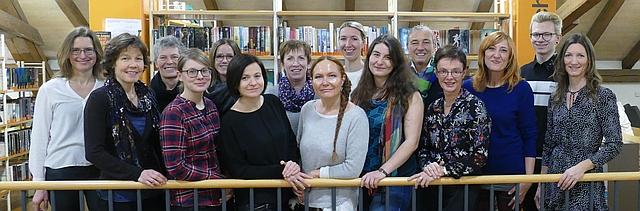 Team Stadtbibliothek Rosenheim